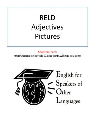 RELD  Adjectives Pictures