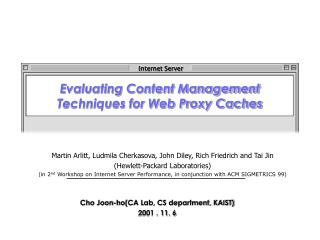 Evaluating Content Management Techniques for Web Proxy Caches