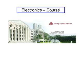 Electronics – Course