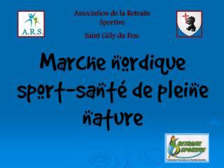 Association de la Retraite Sportive Saint Gély du Fesc