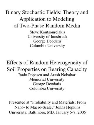 Binary Stochastic Fields: Theory and Application to Modeling  of Two-Phase Random Media