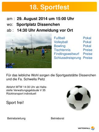 18. Sportfest