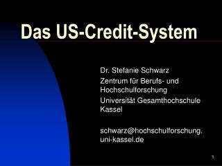 Das US-Credit-System