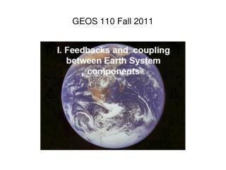 GEOS 110 Fall 2011