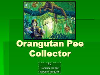 Orangutan Pee Collector