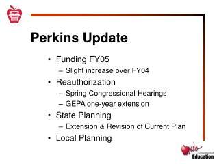 Perkins Update