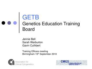 GETB Genetics Education Training Board