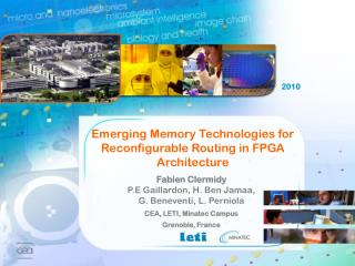 Emerging Memory Technologies for Reconfigurable Routing in FPGA Architecture