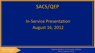 SACS/QEP