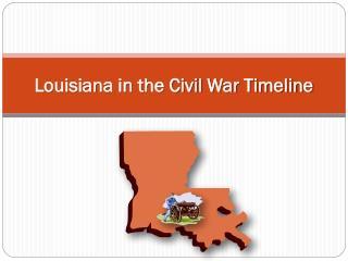Louisiana in the Civil War Timeline
