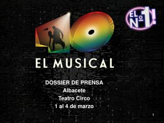 DOSSIER DE PRENSA Albacete Teatro Circo 1 al 4 de marzo