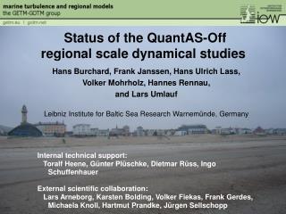 Hans  Burchard, Frank Janssen, Hans Ulrich Lass,  Volker Mohrholz, Hannes Rennau,  and Lars Umlauf