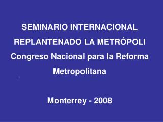 Metrópolis brasileras ¿Cómo gobernar la  urbes  sin  civitas y polis ?