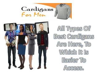 Cheap Cardigans For Men- Enhance Your Wardrobe Collection!