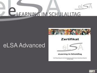 eLSA Advanced