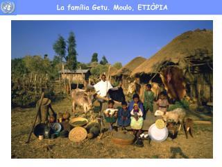 La família Getu. Moulo, ETIÒPIA