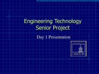 Engineering Technology Senior Project