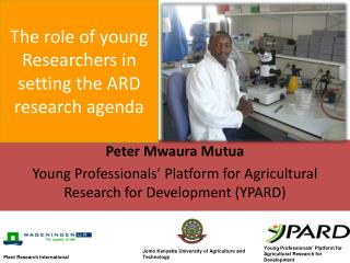 The role of young Researchers in setting the ARD research agenda