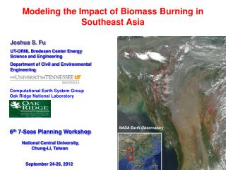 Modeling the Impact of Biomass Burning in Southeast Asia