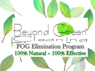 100% Natural – 100% Effective