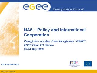 NA5 – Policy and International Cooperation