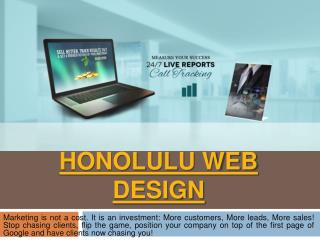 Oahu Web Design