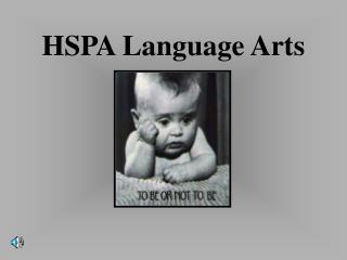 HSPA Language Arts