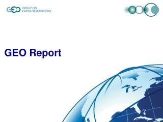 GEO Report