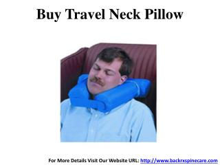 Buy Travel Neck Pillow in India