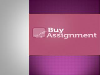 Website to Purchase Assignments Online