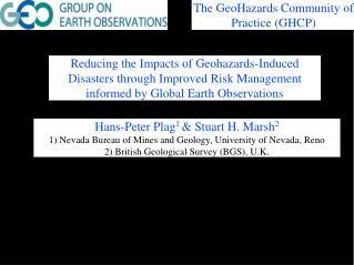 Hans-Peter Plag 1  & Stuart H. Marsh 2