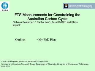FTS Measurements for Constraining the Australian Carbon Cycle