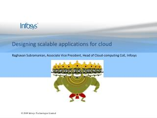 Designing scalable applications for cloud