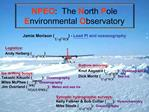 NPEO:  The North Pole Environmental Observatory
