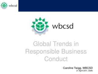 Global Trends in Responsible Business Conduct
