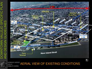 AERIAL VIEW OF EXISTING CONDITIONS