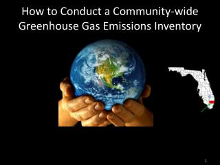 How to Conduct a Community-wide Greenhouse Gas Emissions Inventory