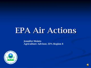 EPA Air Actions