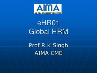 eHR01 Global HRM