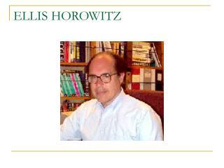 ELLIS HOROWITZ