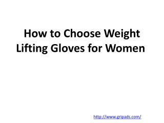Gripad lifting gloves