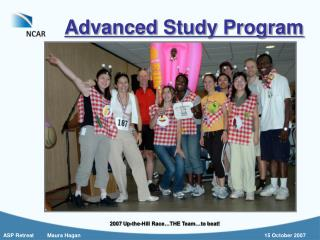 Advanced Study Program