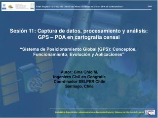 "Taller Regional ""Cartografía Censal con Miras a la Ronda de Censos 2010 en Latinoamérica"""