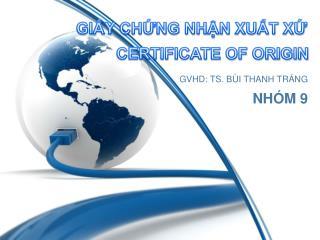 GVHD: TS. B�I THANH TR�NG NH�M 9