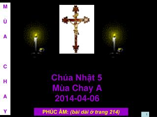 Ch�a Nh?t 5  M�a Chay A 2014-04-06