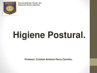 Higiene Postural.