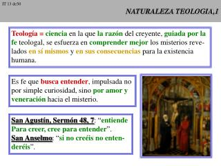 NATURALEZA TEOLOGIA,1