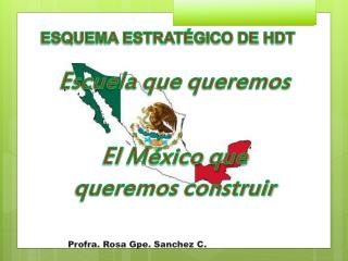 Escuela que queremos  El  México que queremos construir