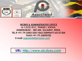 WORKS & ADMINISTRATIVE OFFICE A-1/5,G.I.D.C., PHASE-I, VATVA, AHMEDABAD - 382 445, GUJARAT, INDIA.