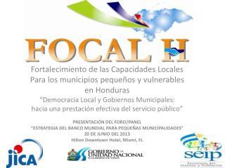 Fortalecimiento de las Capacidades Locales Para  los municipios pequeños y vulnerables